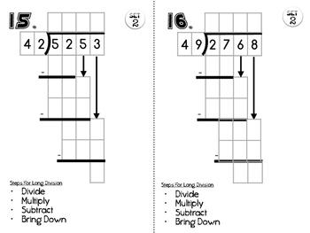 6.NS.2 Long Division Practice Set 2