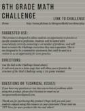 6.NS.2 6th Grade Math Challenge