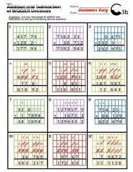 6.NS.3 Addition & Subtraction of Bigger Decimals