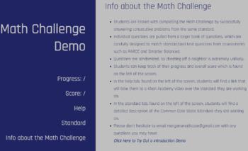 6.NS.5 6th Grade Math Challenge