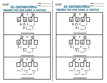 6.NS.5 Re-distributing Exit Ticket
