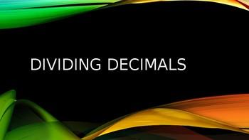 6. NS  6.NS.B.3 Dividing Decimals
