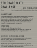 6.NS.6B 6th Grade Math Challenge