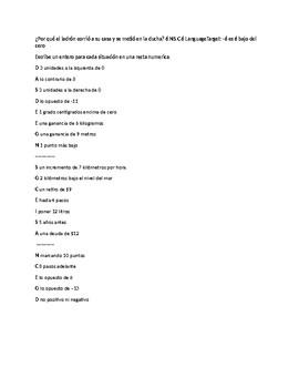 6.NS.C.6 ESL Spanish