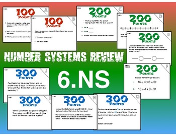 6.NS  Number Systems Review