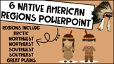 6 Native American Regions PowerPoint Bundle