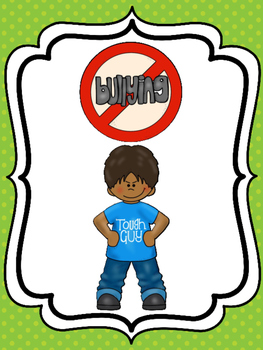6 No Bullying Posters for your Classroom. Pre-K-5th Grade.