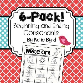 6-Pack! Beginning and Ending Consonants