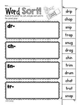 6-Pack! CCVC Word Sorts