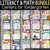 Kindergarten Centers {Math and Literacy Activities} 6 Pack