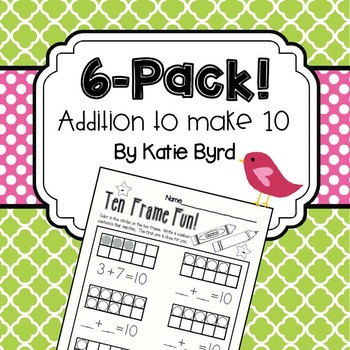 6-Pack! Decomposing 10 (addition)