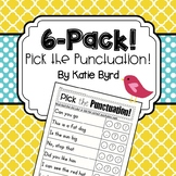 6-Pack! Pick the Punctuation  Distance Learning