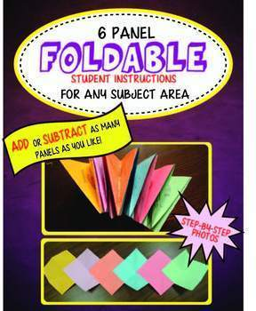 6 Panel Foldable - can add/subtract more panels