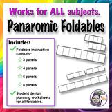 Foldable: Panoramic Series Graphic Organizer - Timeline Option