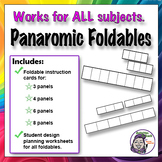 Foldable: Panoramic Series Graphic Organizer - Timeline Option