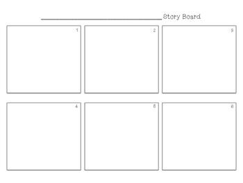 6 Panel Storyboard