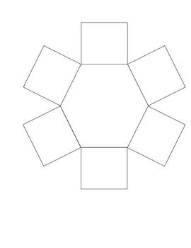 6 Petal (Hexagonal) Blank Graphic Organizer