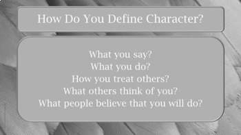 6 Pillars of Character READY TO USE (NO PREP) Lesson w links to 13 videos
