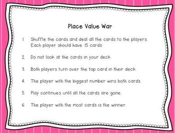 6 Place Value Stations