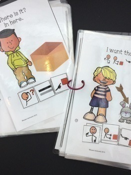 6 Plus More Core Words for AAC 3 Interactive Books Set Bundle