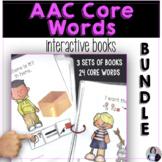 AAC Core Words Interactive Books 3 Set Bundle