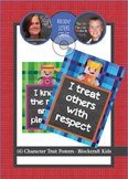 6 Posters - Character Traits - Blockcraft Kids
