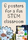6 Fun STEM Posters!