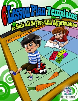 6 Preschool Lesson Plan Templates to Suit All Styles and A