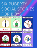 6 Puberty Social Stories for Boys: Autism: Special Education: