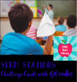 6 QR code link STEM Challenges