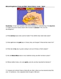 6 Questions and Compare Contrast Ghana Mali and African Vocabulary Analysis