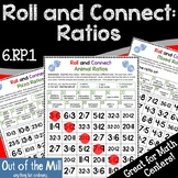 6.RP.1 Ratios Roll and Connect Math Game