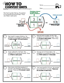6.RP.3 How To Convert Units