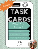 FREEBIE: 6.RP.A.1: What are Ratios?: Task Cards with QR Code