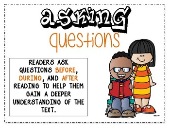 6 Reading Strategies Posters