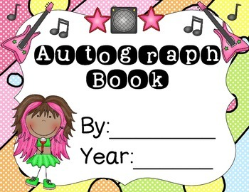6 Rocking Autograph Books