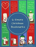 6 S'more Christmas Bookmarks