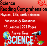 ⭐Science Reading Comprehension Passages and Questions | Bu