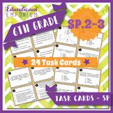 6SP2 Task Cards: Center, Spread, Shape of Distribution | 6SP3 Center & Variation