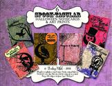6 SPOOK-tacular Halloween Notecards