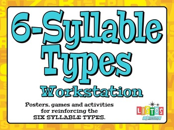 6-SYLLABLE TYPES Workstation