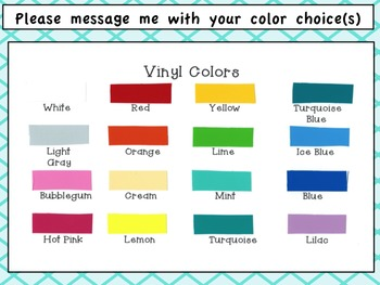 6 Scalloped Dry Erase Decals for Small Group Instruction