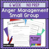 6 Session Anger Management Small Group {NO PREP!}