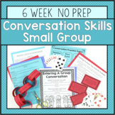 6 Session Conversation Skills Small Group {No Prep!}