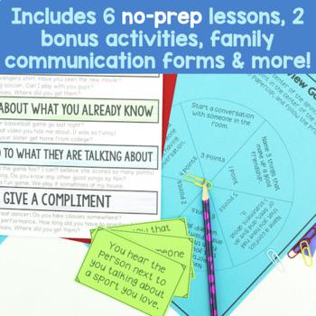 6 Session Friendship Skills Group {NO PREP!}