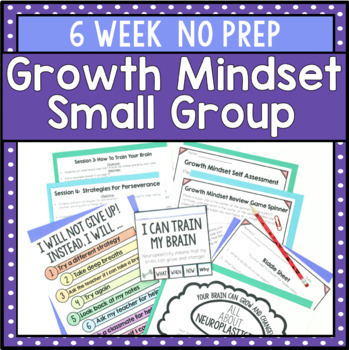 6 Session Perseverance Group {NO PREP!!}