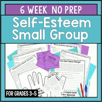 6 Session Self-Esteem Group {NO PREP!}