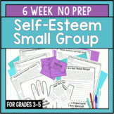 6 Session Self-Esteem Group {NO PREP!}