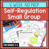 6 Session Self-Regulation Small Group {NO PREP!}