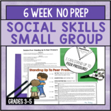 6 Session Social Skills Small Group {NO PREP!}
